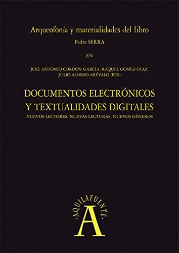 Arqueofonía y materialidades del libro: EN