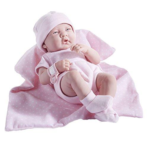 Berenguer La Newborn-36cm-Babypuppe aus PVC (Vinyl) - Baby Simulator