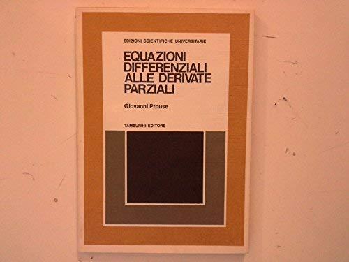 Equazioni differenziali alle derivate parziali (Masson scuola)