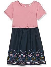 Uttam Boutique Girl's Dragonfly Border Dress
