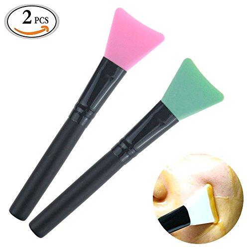 travelmall-2-piece-mask-applicator-brush-silicone-facial-applicator-hairless-skinsoft-silicone-brush