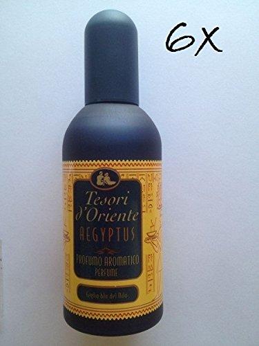 6 parfums Aegyptus Trésors d'Orient parfum Egyptus lot stock offert