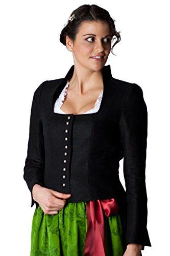 Ludwig und Therese Damen Jacke Fabienne schwarz D130041 34