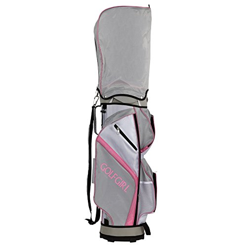 GolfGirl-FWS3-Ladies-Complete-All-Graphite-Golf-Clubs-Set-with-Trolley-Cart-Bag