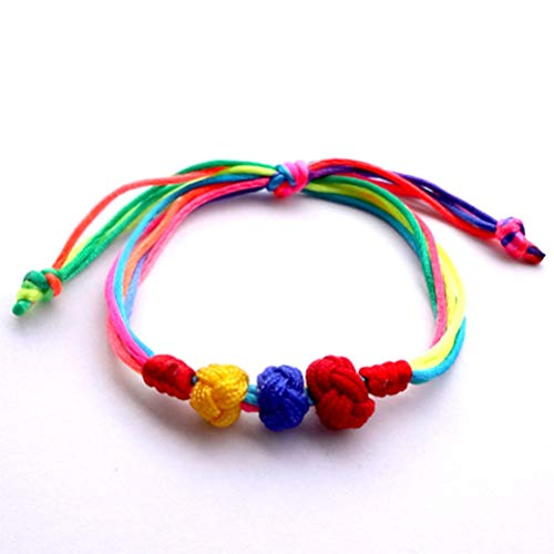 wuhua Gelbe Und Blaue Perlen Im Armband (3 Kugeln Sind In 3 Farben Erhältlich) (Partyartikel In Der Masse)