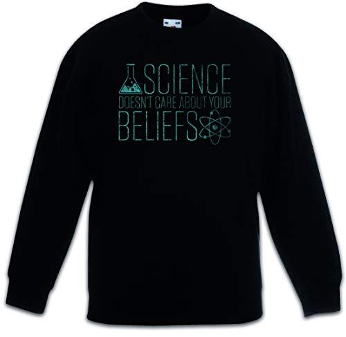 Urban Backwoods Science Doesn't Care Kinder Jungen Mädchen Pullover