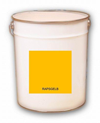 20 Liter gelb Rapsgelb Acryl Dachfarbe Dachanstrich Ziegelfarbe Dachbeschichtung Metalldach Blechdach Acrylat Basis