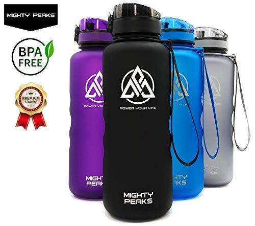 Tritan Sport-Trinkflasche 1.5 l-iter Auslaufsicher BPA frei 1500ml 1,5l schwarz Kinder Plastik-flaschen Outdoor Fitness Bodybuilding Wasser-Flasche 1 5 l-iter Glas-Trinkflasche 1 5 l-iter 1 5 l 1.5l
