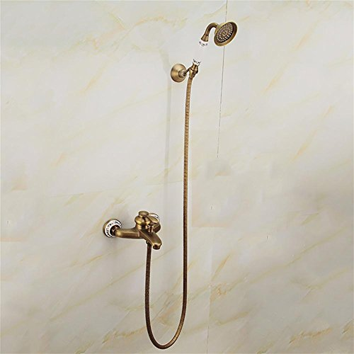 Mcc Shower Mixer Set With Rapid Thermostatic Surface Mounted Shower