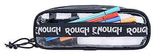 Trousse à crayons transparente avec compartiments pour garçons...
