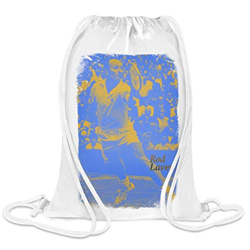 Clubbing Designs Stangenlaver - Rod Laver Custom Printed Drawstring Sack | 100% Soft Polyester| 5 Liter Capacity| Adjustable String Closure| The Stylish Bag For Every Day Use| Custom Bags By (Rod Laver)
