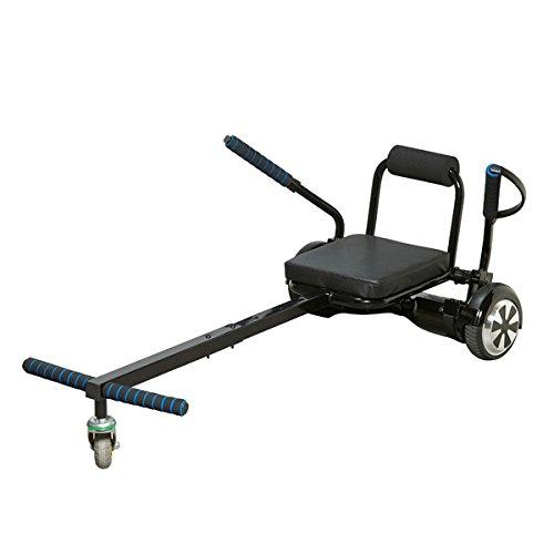 Denver KAR-1550 Kartaufsatz für Hoverboards, Schwarz
