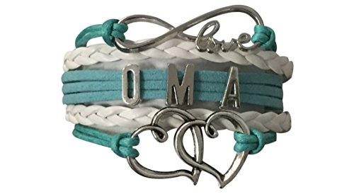 Oma Armband, Oma Schmuck, Oma Schmuck macht tolle Oma Geschenke (Alex Und Ani Armreifen Infinity)
