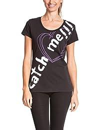 6a94339be Desigual nicamo – Camiseta para mujer Negro negro ...