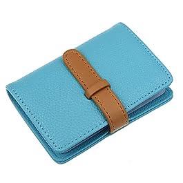 44404dae10 Ducomi® Walton Porta carte di credito, biglietti da visita tascabile con 26  comodi scomparti ...