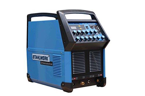 Preisvergleich Produktbild HuSuper Elektrodenschweißgerät Inverter AC/DC TIG WIG Schweissgerät 200 Pulse Elektroden schweißgerät(WIG 200)