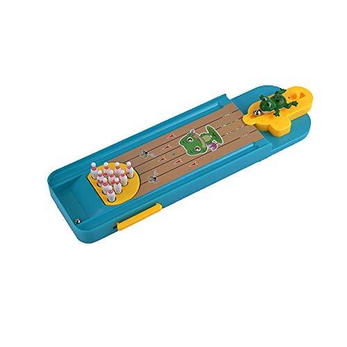 La novedad Mini Juego mesa Bowling dedo Catapulta