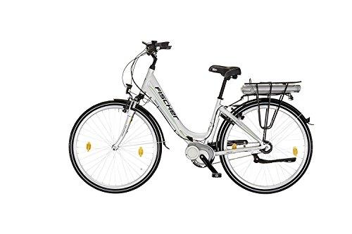 Fischer E-Bike Ecoline City mit Mittelmotor 36V 317 Wh, LCD-Display, 28 Zoll