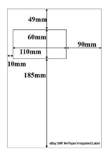 mhp-1000-feuilles-a4-feuilles-avec-tiquette-intgre-ebay-smp-sm-etiquettes