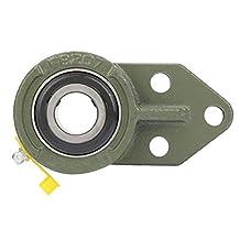 3-bouts wisselplaatlager - hoog koolstofchroomlager Stalen inzetlager 3-gats kogelflenslager accessoires(((UCFB207)))