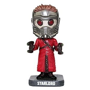 "Funko FUN3961 Wacky Wobbler"" Guardians of The Galaxy Star Lord Bobble Head Figure 8"