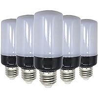 WELSUN E27 Base Led Bulbos de maíz 5736 SMD 10W 900~1000lm 100LED Blanco frío LED de luz blanca de maíz AC 220~240V (5PCS) (Color : Blanco frío)