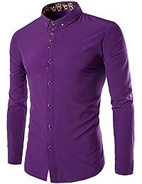 Polo, Camisetas, Blusa,BaZhaHei, Camisetas de Hombre de Manga Larga Delgada Hombres