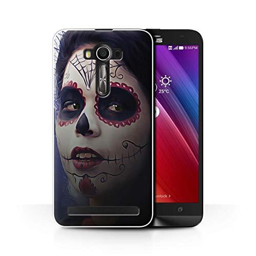 Stuff4® Hülle/Case für ASUS Zenfone 2 Laser ZE600KL / Halloween Bilden Muster/Tag Der Toten Festival Kollektion