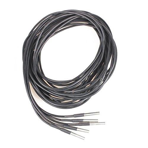 Temperaturfuehler - TOOGOO(R) 5x 2M Wasserdicht Digital Temperaturfuehler Temperatur Sensor DS18b20 -