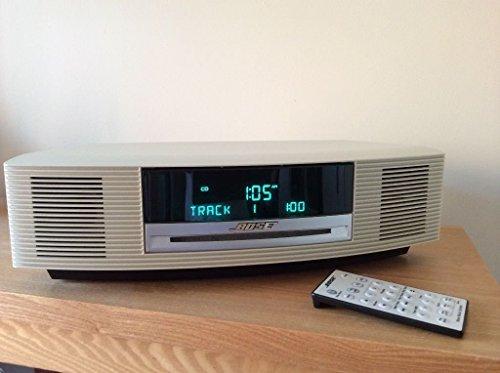 Bose Wave Music System Radio/CD II - Platinum White (White) (Music System Ii Bose)
