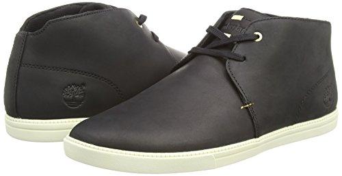 Timberland Newmarket FTB_Fulk LP Mid Herren Hohe Sneakers Schwarz (Black)