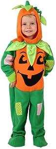 Atosa-12279 Halloween Disfraz Calabaza, Color verde, 0 a 6 meses (12279