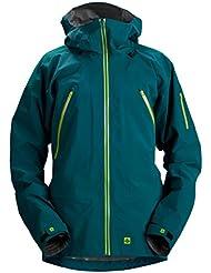 Sweet protection para hombre cazadora deportiva para hombre, otoño/invierno, hombre, color Verde - azul oscuro, tamaño L