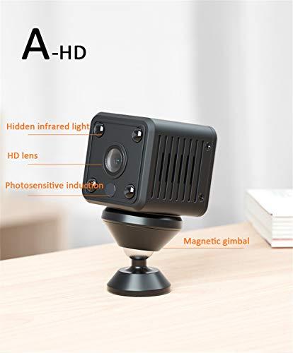 Pilot Electrical Sicherheits-Wireless-IP-Kamera Mini Volume Nachtsicht Zoomobjektiv Überwachungssystem Bewegungserkennung Aktivitätswarnung,A,8g Pilot-usb-kamera