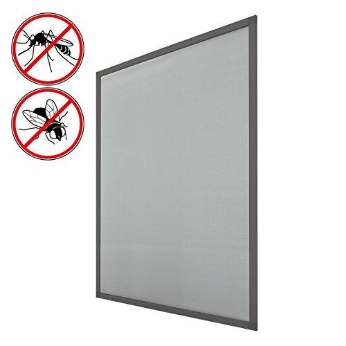 fliegengitter fenster mit rahmen grau juli 2018 vergleich test kaufen. Black Bedroom Furniture Sets. Home Design Ideas