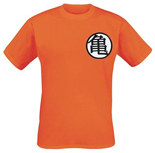 Dragon Ball Z Symbols T-Shirt arancione L