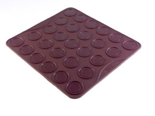 Silikon-Backmatte für 27 Makronen, verhindert Anhaften