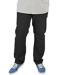 Confort De Rockford Mens Jeans De Qualité De Grande Taille Noirs Fit