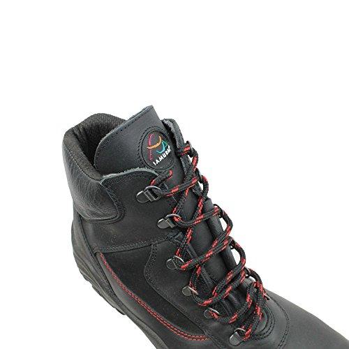 Samurai condrieu s3 chaussures berufsschuhe businessschuhe chaussures de trekking (noir) Schwarz