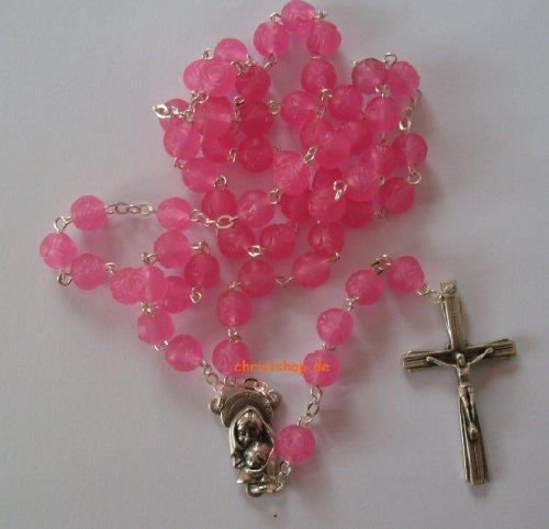 Rosenkranz Duftenden (Rosenkranz Pink mit zartem Rosenduft)