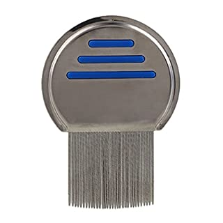 ALCYONEUS Pet Dog Stainless Steel Lice Flea Cleanup Removal Comb Safe Grooming Brush