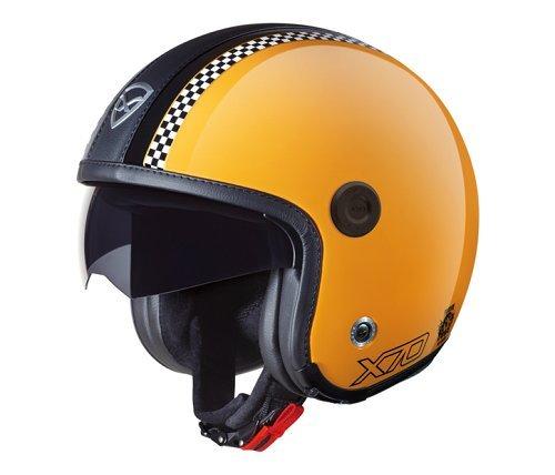 Preisvergleich Produktbild NEXX X70 FREEDOM retro gelb glanz S