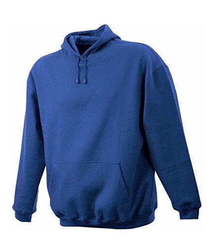 Felpa Uomo con cappuccio Maglione Sweat-shirt Hoodies S a XXL Royal