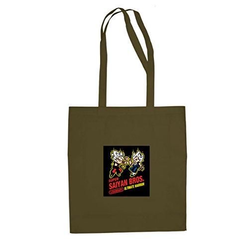 DBZ: Super Saiyan Bros Game - Stofftasche / Beutel Oliv