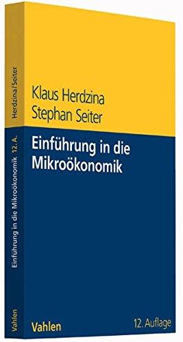 Einführung in die Mikroökonomik