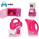 FunBlast Household Set for Kids, (Set of 4) Pretend Play Set Includes Kettle, Mixer, Water Filter and Oven Toys for…