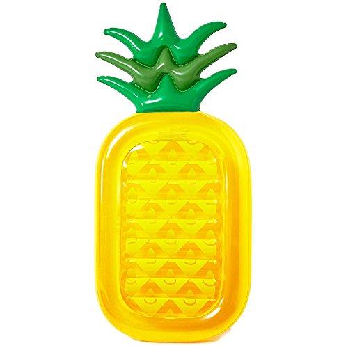DMGF Aufblasbare Pool Float Ananas Floß Riesen Liegen Sommer Outdoor Schwimmen Floats Strand Wasser Sport Spielzeug Für Erwachsene Kinder
