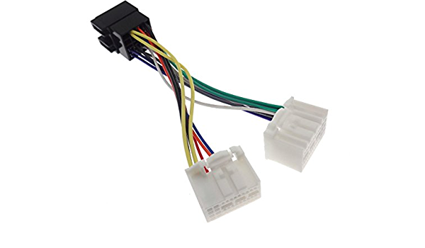 Radio Anschlusskabel Für Hyundai Kia Ab 2017 Adapter Stecker Din Iso Kabel Oem