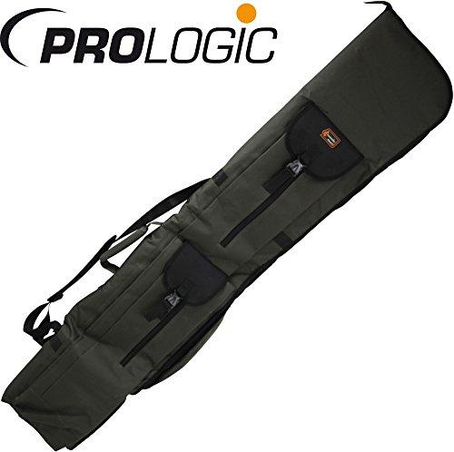138 Rod (Prologic Cruzade Rod Holdall 3+3 12ft 138x30x10cm - Tasche für Karpfenruten, Rutentasche, Angeltasche für Angelruten Rutenfutteral)