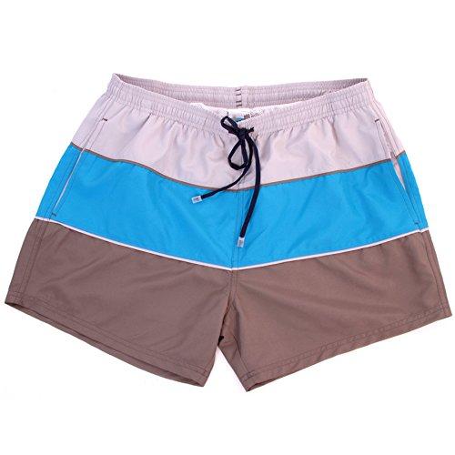 BARCO TEKSTIL Swim short uomo Sportswear, L.Grey, M, 341544 Grigio - L.Grey